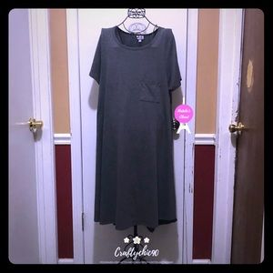 👗Lularoe Gray Dress XL👗